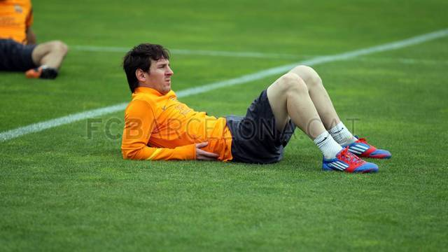 Training session 13/01/2012 13/01/2012 / PHOTO: MIGUEL RUIZ - FCB
